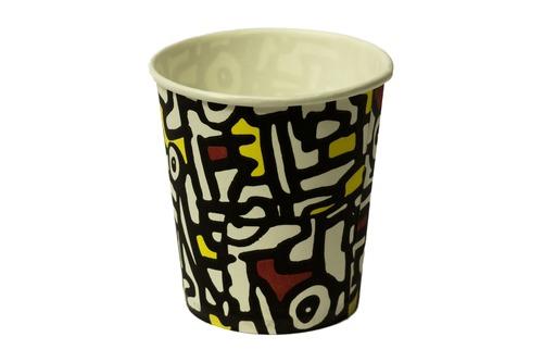 Бумажные стаканы для кофе цветные 100 мл 50 шт