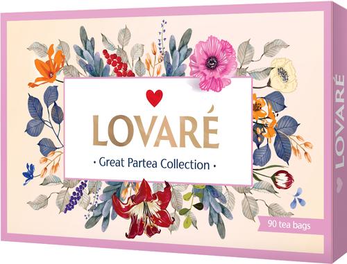Чайный набор Lovare 18 видов 90 шт