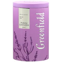 Черный чай Greenfield Purple Lavender ж/б 100 г