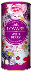 Черный чай Lovare Дикая ягода 80 г