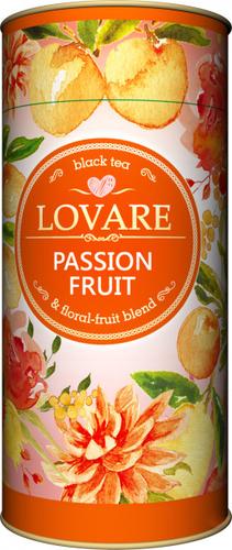 Черный чай Lovare Страстный фрукт 80 г