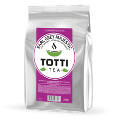 Черный чай Totti Earl Grey Majestic 250 г
