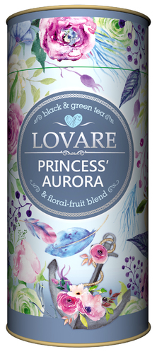 Черный и зеленый чай Lovare Рассвет княжны 80 г