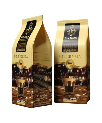 Кофе в зернах Mr.Rich El Crema 1 кг