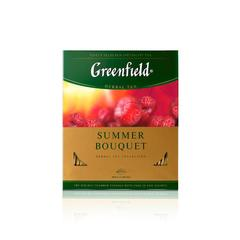 Фруктовый чай Greenfield Summer Bouquet 100 пакетов по 2 г