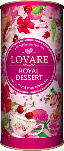 Фруктовый чай Lovare Королевский десерт 80 г