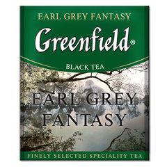 Черный чай Greenfield Earl Grey 100 пакетов по 2 г