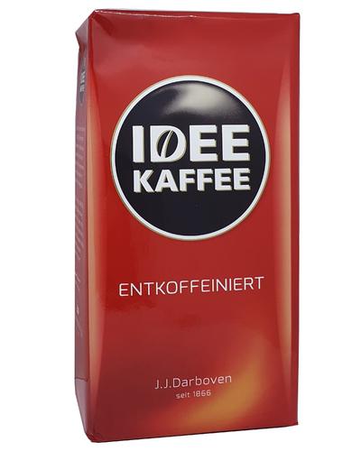 Молотый кофе без кофеина J.J.Darboven Idee kaffee Entkoffeiniert  500 г