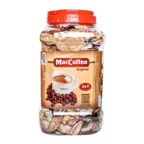 Кофе 3 в 1 MacCoffee 160 стиков банка
