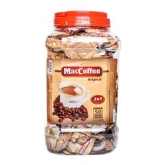 Кофе 3 в 1 MacCoffee 50 стиков банка