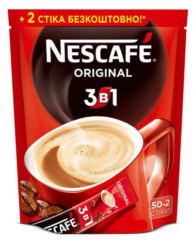 Кофе 3 в 1 Nescafe Original 52 стика