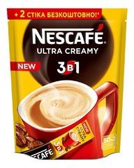Кофе 3 в 1 Nescafe Ultra Creamy 52 стика