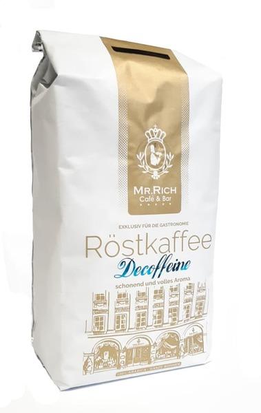 Кофе без кофеина в зернах Mr.Rich Decoffeine 500 г Розница