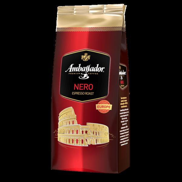 Кофе в зернах Ambassador Nero 900 г