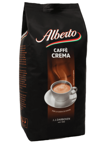 Кофе в зернах J.J. Darboven Alberto Caffe Crema 1 кг