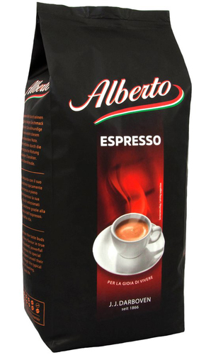 Кофе в зернах J.J. Darboven Alberto Espresso 1 кг