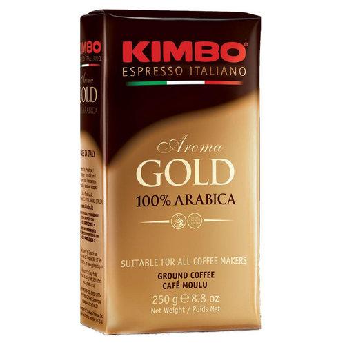 Молотый кофе Kimbo Aroma gold 100% Arabica 250 г