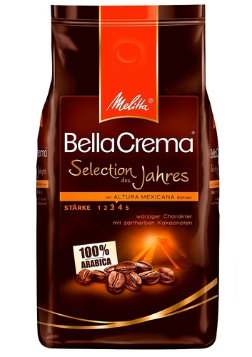 Кoфе в зернах Melitta Bella Crema Altura Mexicana 1 кг