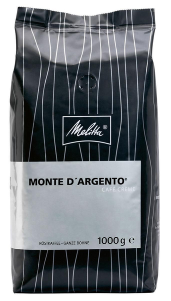 Кофе в зернах Melitta Schumli Monte D'Argento Cafe Creme 1 кг