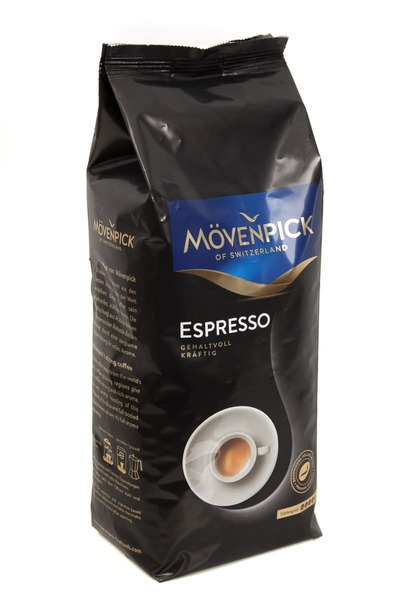 Кофе в зернах Movenpick Espresso 1 кг ОПТ от 8 шт.