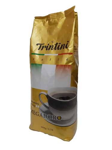 Кофе в зернах Trintini Megadoro 1 кг