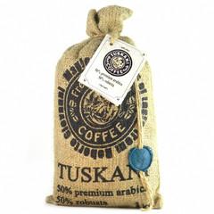 Кофе в зернах Tuskani 50% арабика 50% робуста 1 кг