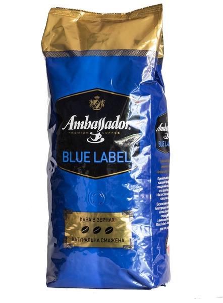 Кофе в зернах Ambassador Blue Label 1 кг