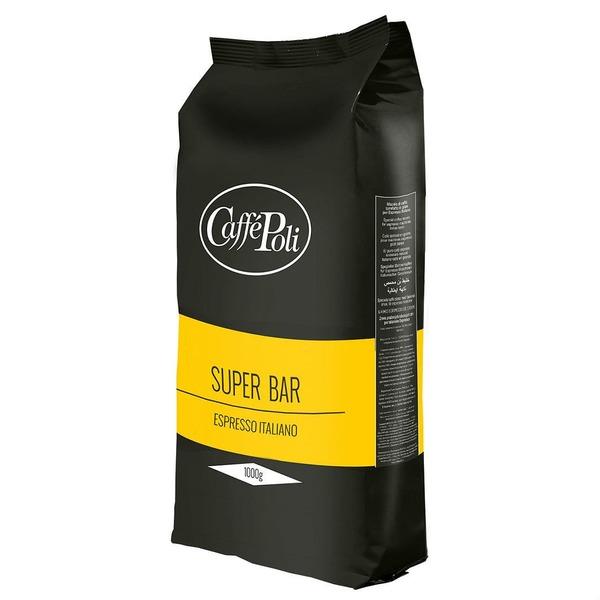 Кофе в зернах Caffe Poli Superbar 1 кг