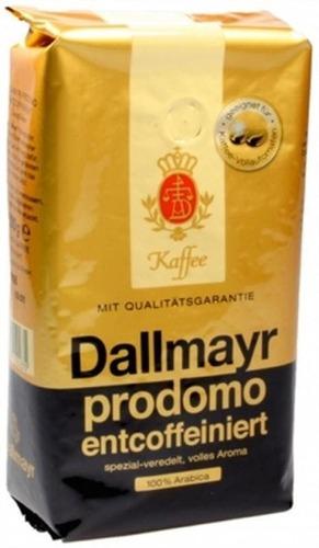 Кофе в зернах Dallmayr Prodomo decaf 500 г
