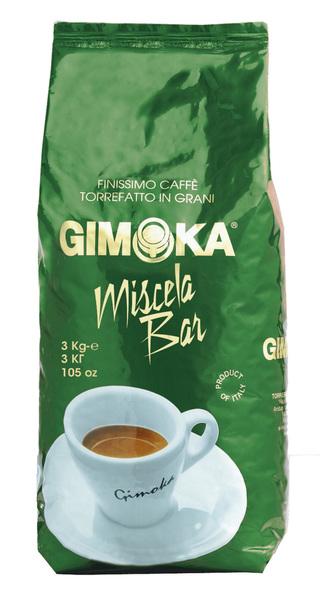 Кофе в зернах Gimoka Miscela Bar 3 кг Опт от 4 шт