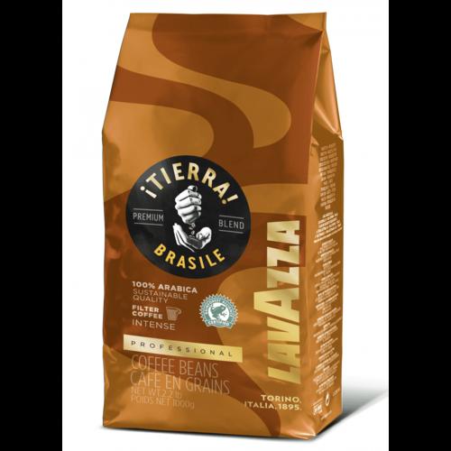 Кофе в зернах Lavazza Tierra Brazil 100% 1 кг