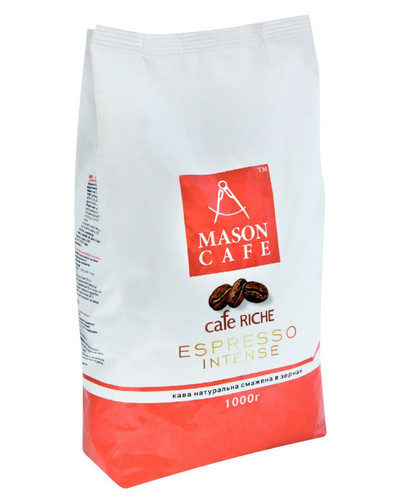 Кофе в зернах Mason Cafe Riche Espresso Intense 1 кг