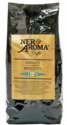 Кофе в зернах Nero Aroma Guatemala Maragogype 1 кг