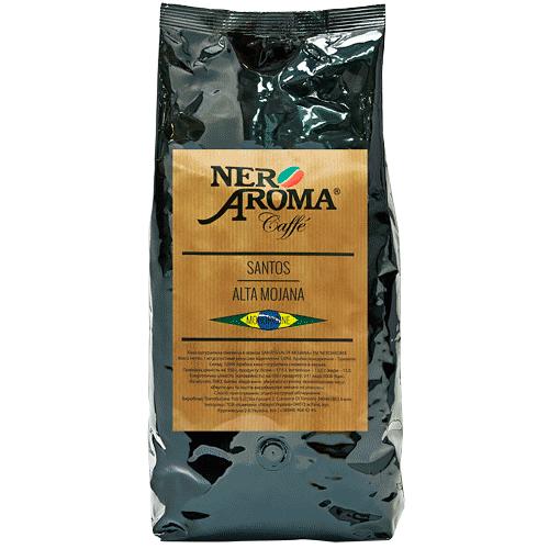Кофе в зернах Nero Aroma Santos Alta Mojana 1 кг