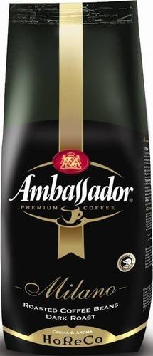 Кофе в зёрнах Ambassador Milano 1 кг