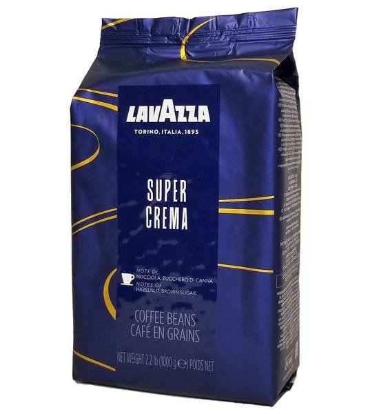Кофе в зернах Lavazza Super Crema 1 кг Опт от 6 шт