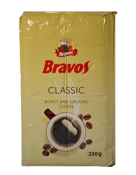 Молотый кофе Bravos Classic 250 г