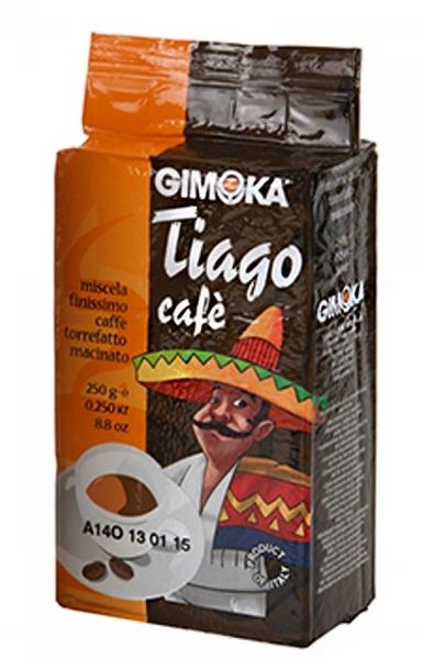 Молотый кофе Gimoka Tiago 250 г