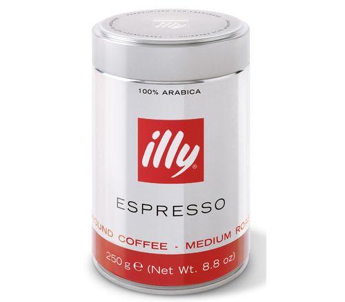 Молотый кофе ILLY Espresso 250 г