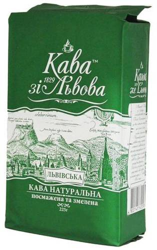 Молотый кофе Кава зі Львова Львівська 480 г