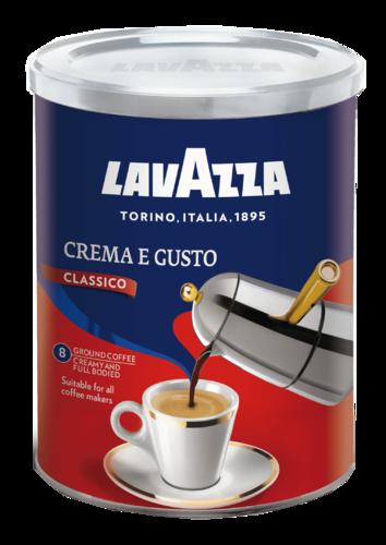 Молотый кофе Lavazza Crema E Gusto ж/б 250 г