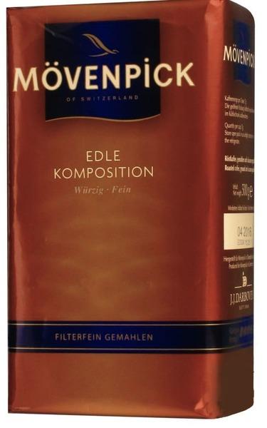 Молотый кофе Movenpick Edle Komposition 500 г