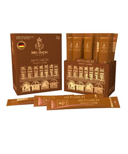 Растворимый кофе Mr.Rich Monarch в стиках 26 шт по 2 г