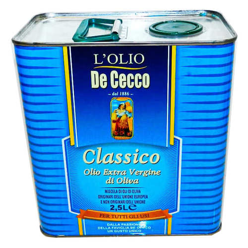 Оливковое масло De Cecco Classico Olio Extra Vergine di Oliva 2.5 л