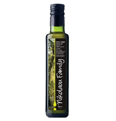 Оливковое масло Nikolaou Family Extra Virgin Olive Oil 100 мл