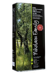 Оливковое масло Nikolaou Family Extra Virgin Olive Oil 5 л