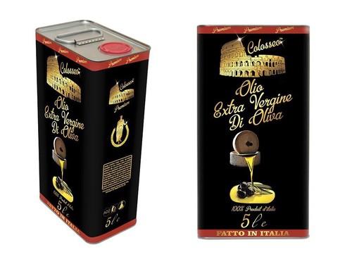 Оливковое масло Olio Colosseo Extra Vergine ж/б 5 л