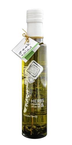Оливковое масло с травами Nikolaou Family Herbs Premium Greek Salad 250 мл