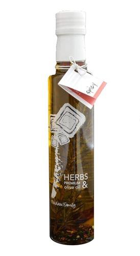 Оливковое масло с травами Nikolaou Family Herbs Premium Spicy 250 мл