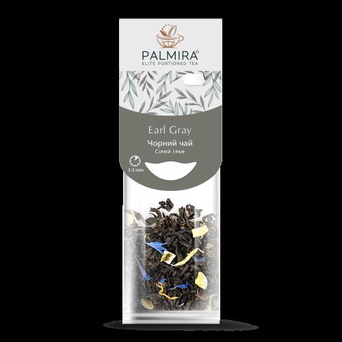 Черный чай с бергамотом Palmira Серый Граф 10 шт по 2.5 г